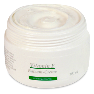 Крем с витамин Е и пшеничен зародиш- 100 мл