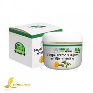 Роял крем с масла от безсмъртниче и маслини - 50 мл