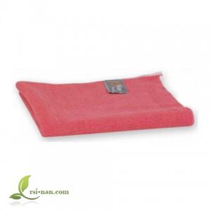 Малка кърпa от микровлакна - розова